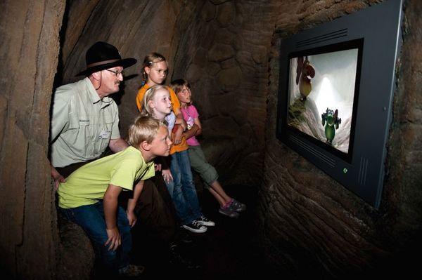 Boggelfilm in der Boggelhöhle