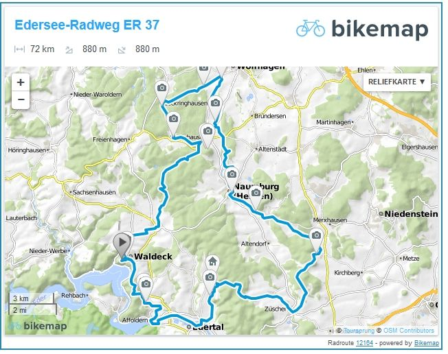 Radweg ER 37