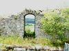 Burgfenster auf der Burgruine Lobenstein bei Zell