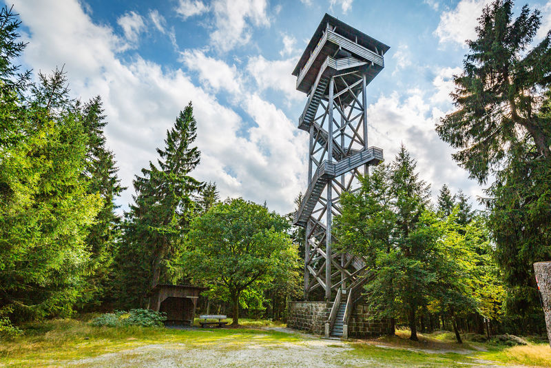 Der Oberpfalzturm im Steinwald