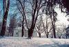 Winterstimmung bei der Karoli-Kapelle in Waldkirchen