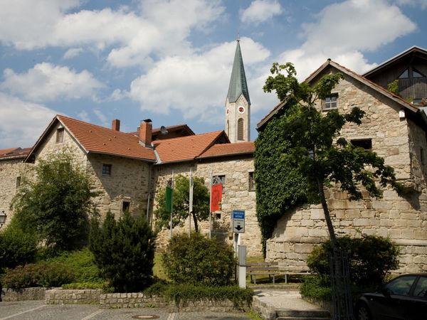 Reste der Ringmauer in Waldkirchen