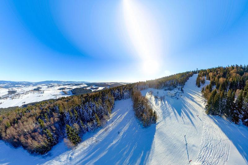 Skigebiet Oberfrauenwald bei Waldkirchen