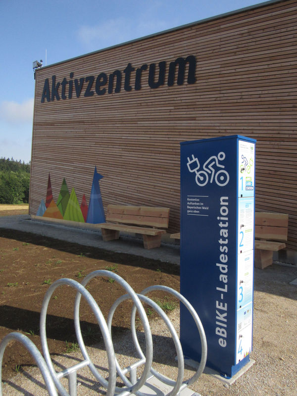 Aktiv-Zentrum Althütte mit eBike Ladestation