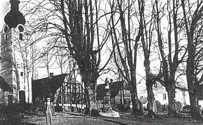 Das ehemalige Grafenried (Lucina) im Böhmerwald in früheren Zeiten