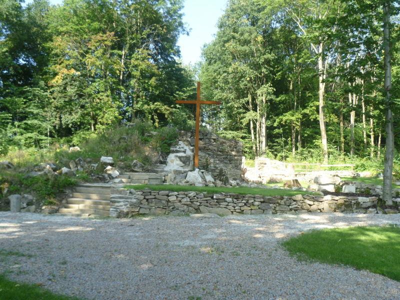 Freigelegte Überreste der Grafenrieder Kirche St. Georg