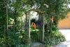 Idyllische Gartenlaube beim Ferienhof Schlag in Hocha bei Waldmünchen