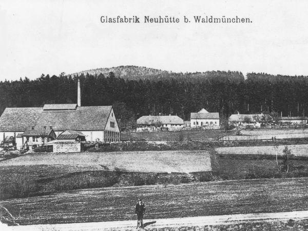 Die Lenkenhütte im Jahr 1896 (Historisches-Privat-Bildarchiv: Hansjörg Schneider, Waldmünchen)