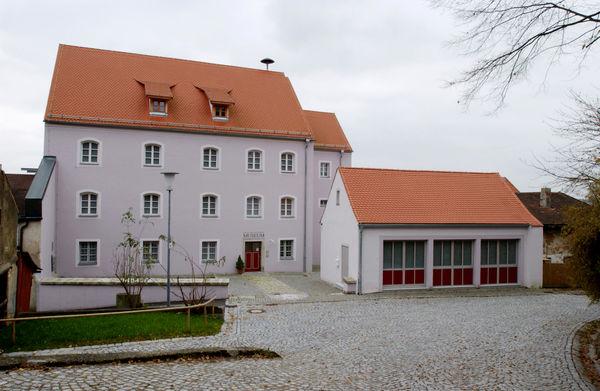 Blick auf das Grenzland- und Trenckmuseum in Waldmünchen