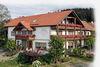 Blick auf das Landhotel Gruber in Herzogau bei Waldmünchen