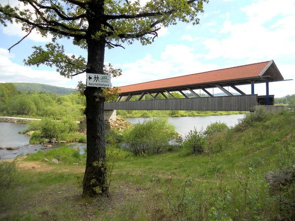Markierung am Napoleonweg in Waldmünchen