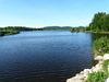 Direkt am Perlsee läuft der Napoleonweg in Waldmünchen vorbei