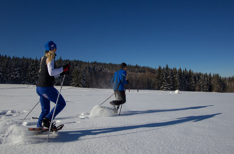 Schneeschuhwandern Im Waldmunchner Urlaubsland Bayerischer Wald