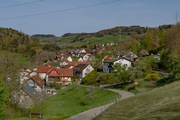 Blick auf Schmitzingen