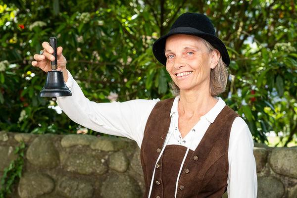 Susanne Tritschler kennt sich mit den Glocken, Geigen & Co. in Waldshut ganz genau aus.