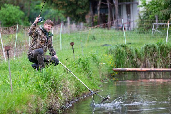 Forellenanlage, Foto: Florian Läufer
