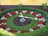 Die Blumenuhr in Waldsieversdorf, Foto: Amt Märkische Schweiz