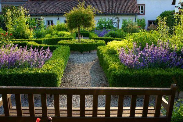 Garten am Haus Saargau