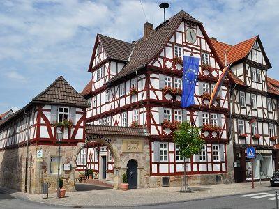 Rathaus der Stadt Wanfried