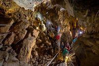 Innenansicht Höhle