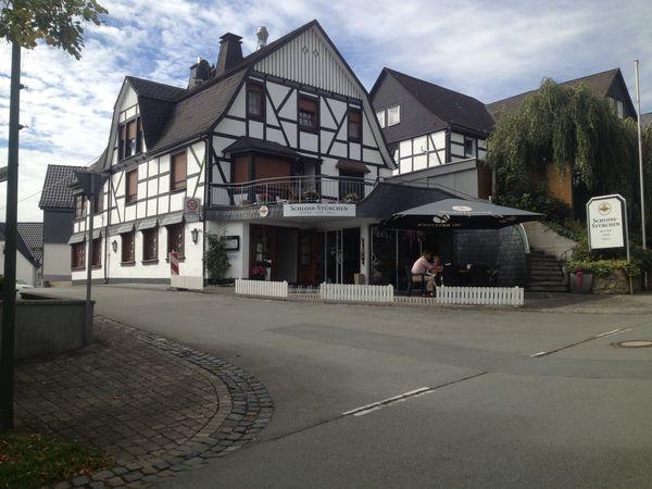 Außenansicht Café Schlossstübchen