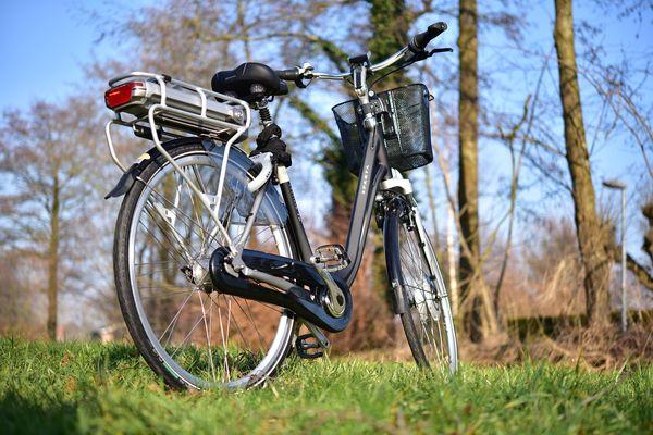 Ansicht eines E-Bikes