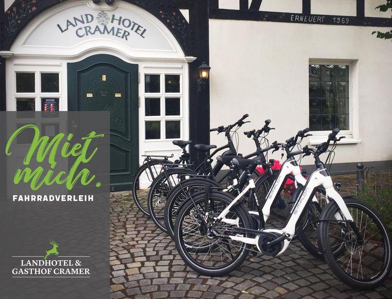 Fahrradverleih Landhotel & Gasthof Cramer