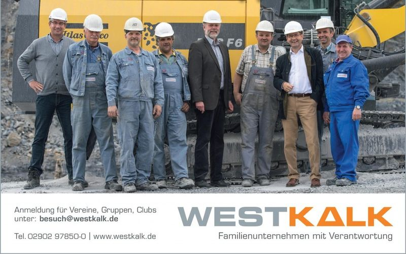 Anzeige Besuch bei Westkalk