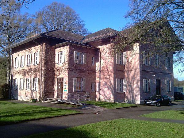 Das denkmalgeschützte Haus 23 beherbergt heute das Psychiatriemuseum