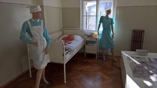 Ein ehemaliges Patientenzimmer