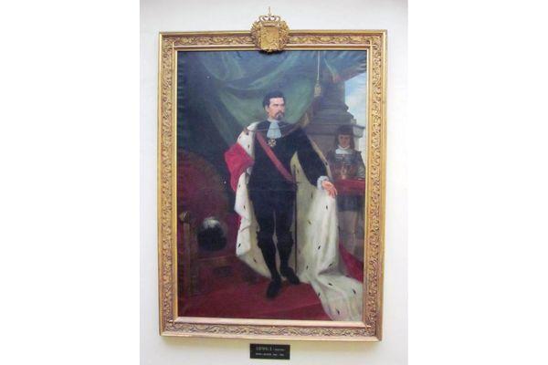 König-Ludwig II.-Gemälde im Wasserburger Rathaus