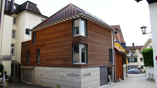 Das moderne Museum mitten im historischen Städtchen Weesen
