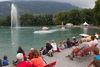 Springbrunnen am Seefäscht
