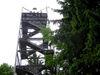 Der Aussichtsturm auf dem Friedrichsberg bei Wegscheid