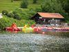 Tretboote zum mieten am Rannasee im Passauer Land