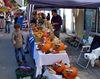 Kürbisstand beim Wegscheider Herbstmarkt