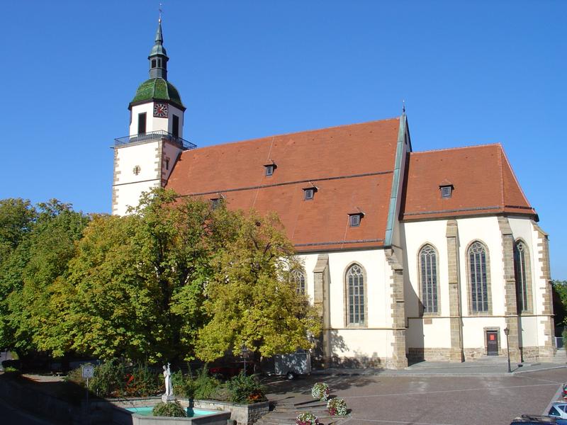 Peterskirche in Weilheim an der Teck