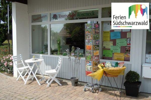 Tourist Information im Rosendorf Nöggenschwiel