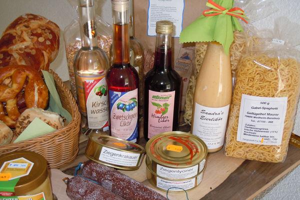 Eine reiche Auswahl an regionale Produkte