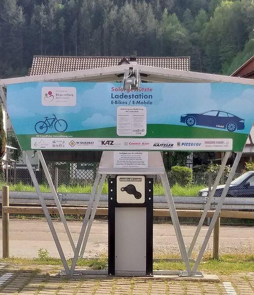 Weisenbach - E-Bike Ladestation