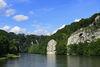 Donaudurchbruch mit imposanten Felswänden