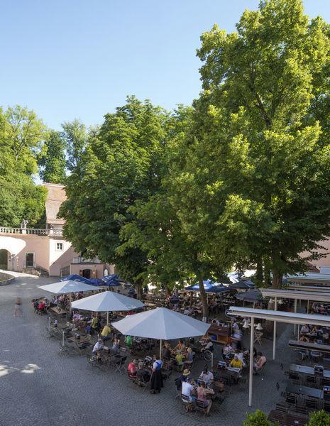 Biergarten der Klosterschenke Weltenburg