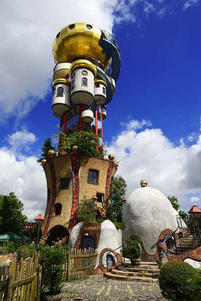 Der Kuchlbauer-Turm. Ein Hundertwasser-Architekturprojekt