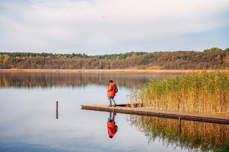 """12. Etappe """"66-Seen-Wanderweg"""": Die Glubig-Seenkette - Wendisch Rietz bis Neuendorf am See"""