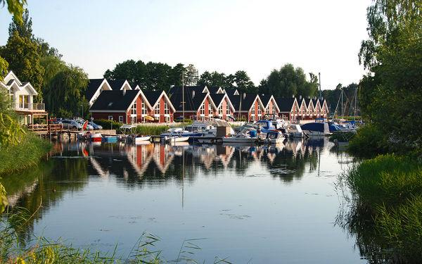 Marina Wendisch Rietz - Hafendorf mit Bootsliegeplätzen © Christin Drühl