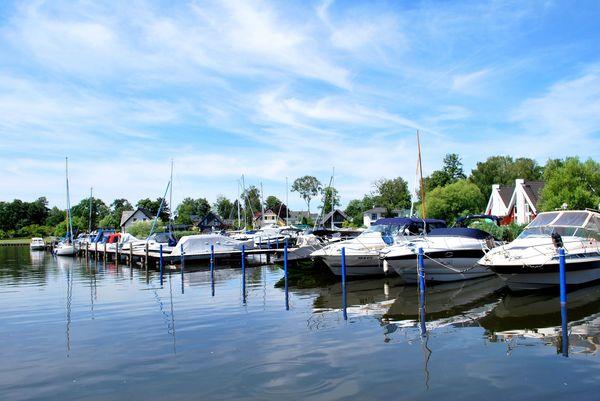 Marina Wendisch Rietz - Hafendorf mit Bootsliegeplätzen, Foto: Danny Morgenstern