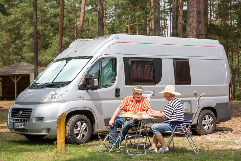 Camping im Seenland Oder-Spree,Foto: Florian Läufer