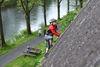 Kind klettert in Werdohl.