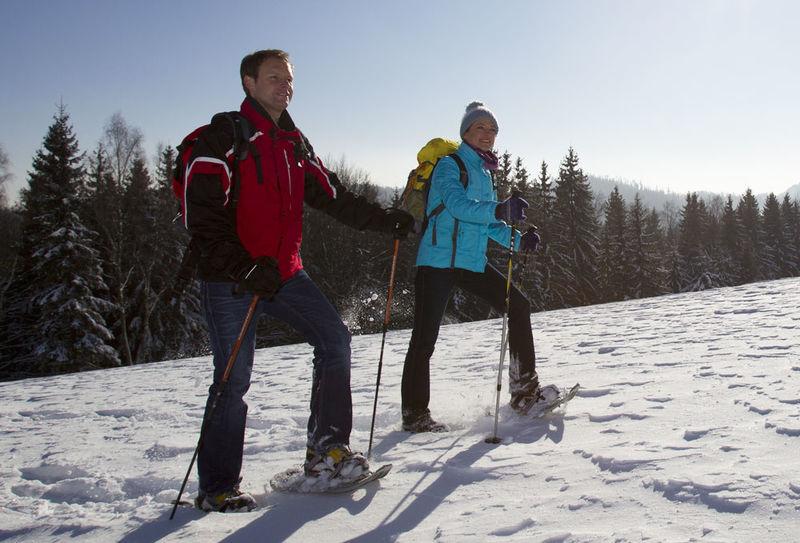Schneeschuhwandern Hildweinsreuth