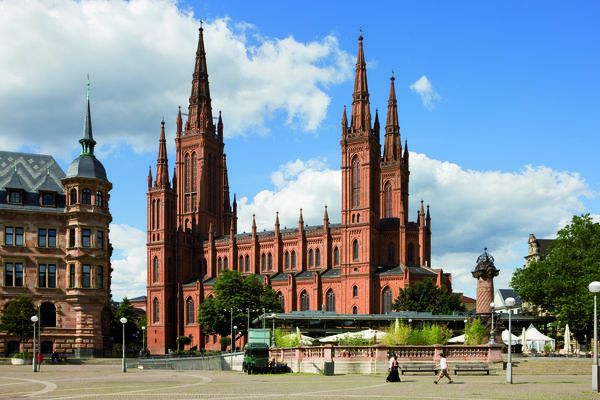 Blick auf die Marktkirche